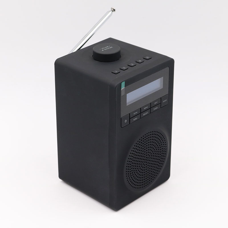 Portable Digital DAB+FM Bluetooth Radio with Alarm Clock
